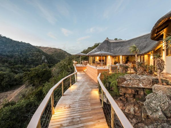 Inzolo Exclusive Game Lodge Exterior View