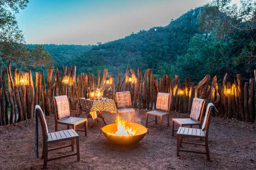 Inzolo Exclusive Game Lodge Private Dinner