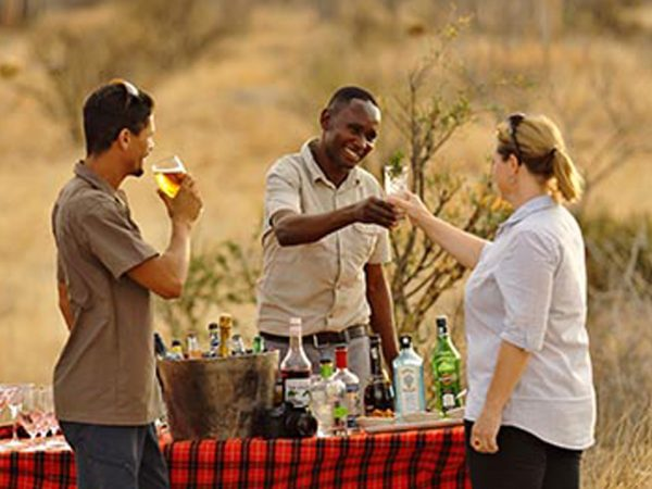 Jabali Ridge Wine Testing