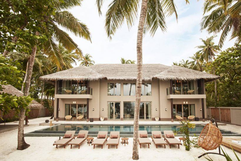 Joali Maldives Four Bedroom Beach Residence with Pool