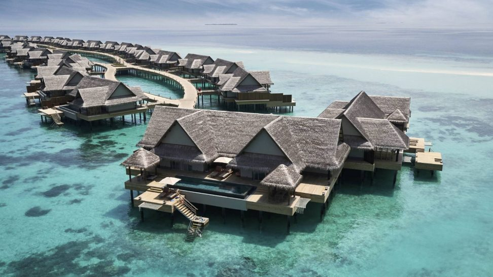 Joali Maldives Three Bedrooms Ocean Residence with 2 Pools