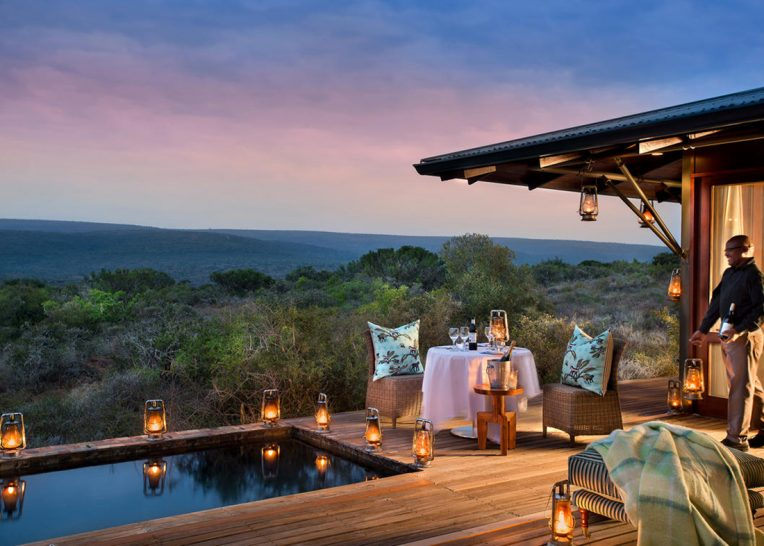 Kwandwe Ecca Lodge Dining Deck