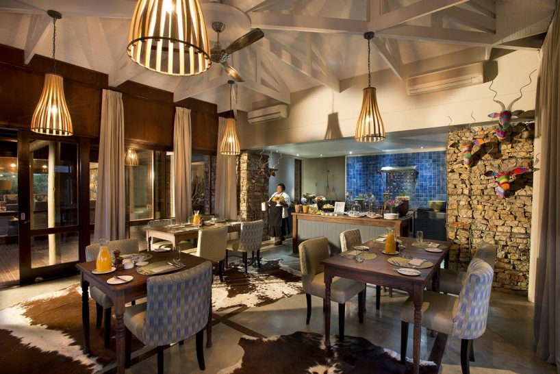 Kwandwe Ecca Lodge Dining Room