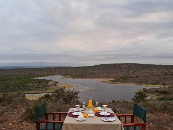 Kwandwe Ecca Lodge Private Dining
