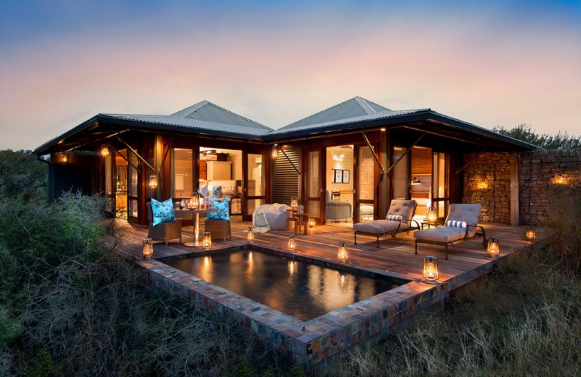 Kwandwe Ecca Lodge suite exterior