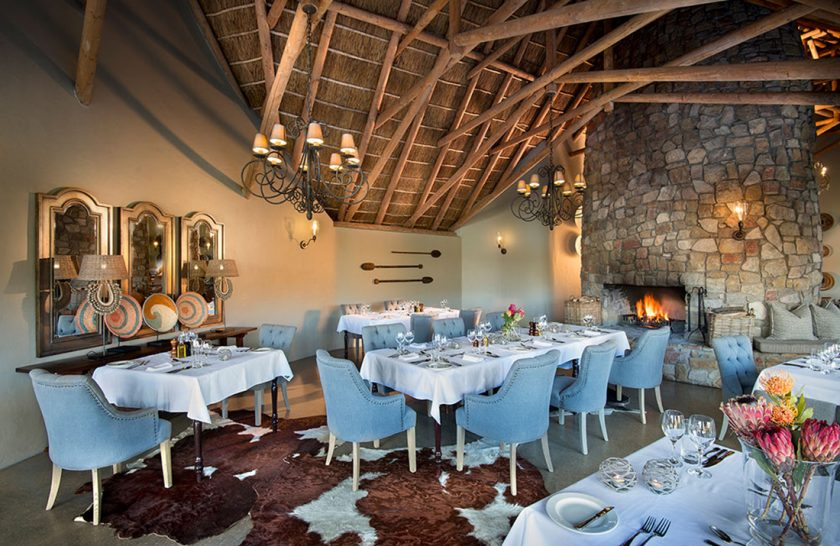 Kwandwe Great Fish River Lodge Dining Room