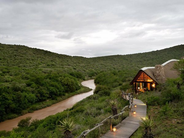 Kwandwe Great Fish River Lodge Exterior View
