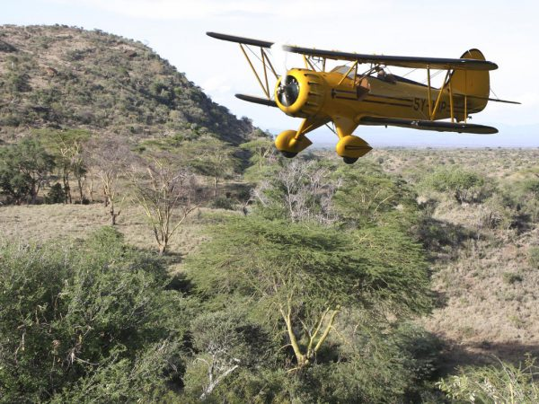 Lewa Wilderness Flying the Wilds
