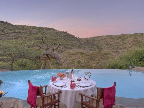 Lewa Wilderness Private Dinner