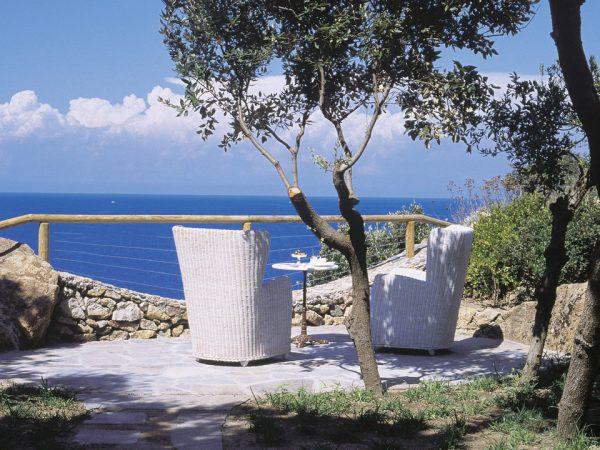 Mezzatorre Hotel and Spa Private Garden