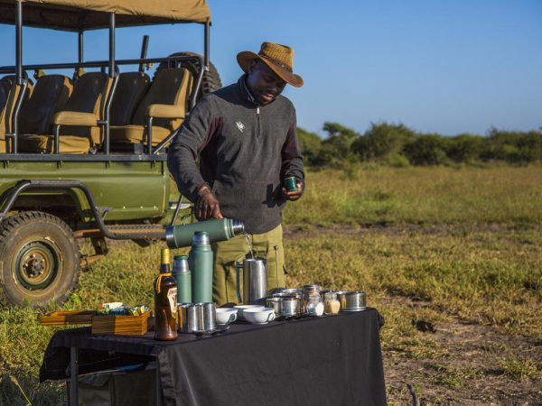 Molori Safari Lodge Bush Dinners