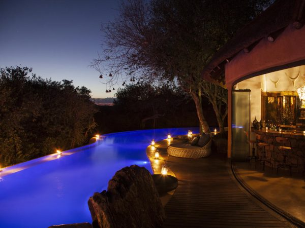 Molori Safari Lodge Night