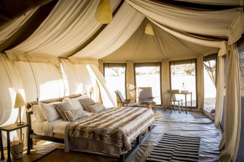 Namiri Plains Camp Family Tent