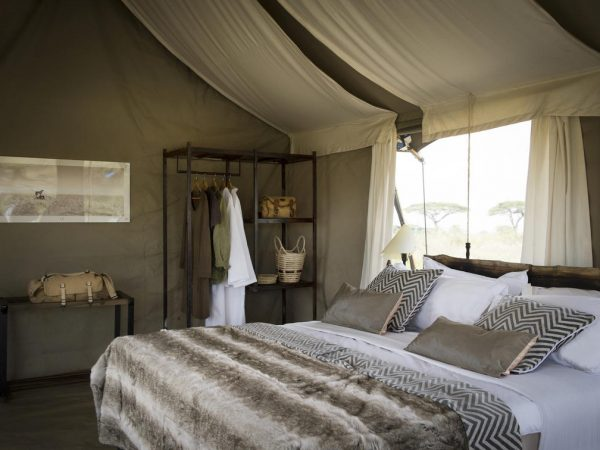 Namiri Plains Camp Guest Tent