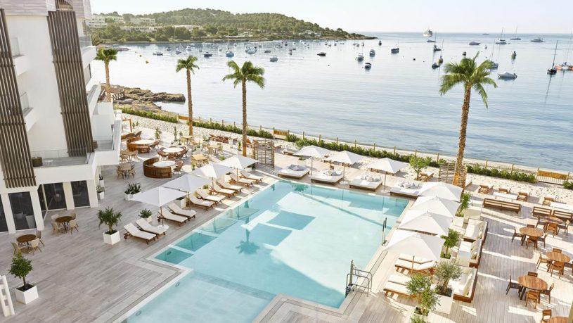 Nobu Hotel Ibiza Bay Pool Top View