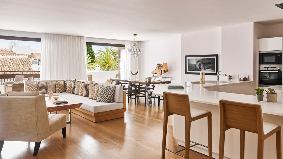 Nobu Hotel Marbella Four Bedroom Suite