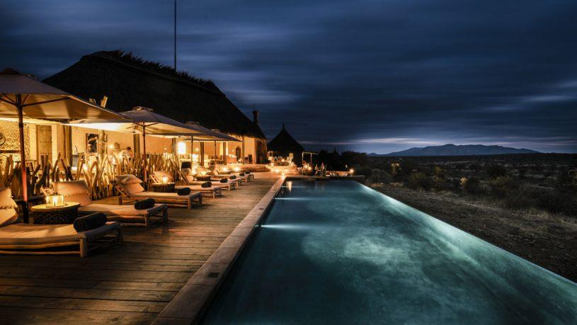 Omaanda Zannier Hotels Pool Night View