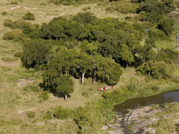 Rekero Camp Aerial