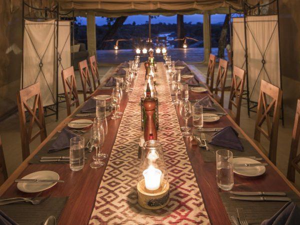 Rekero Camp Dining