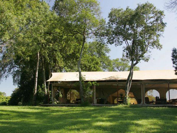 Rekero Camp Exterior View