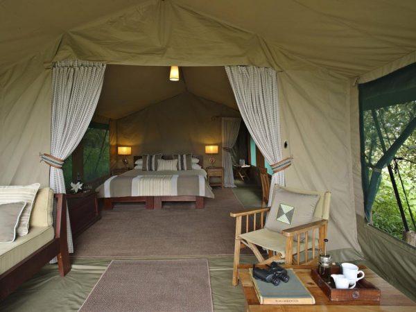 Rekero Camp Guest tent