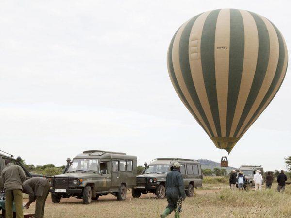 Rekero Camp Hot air ballooning