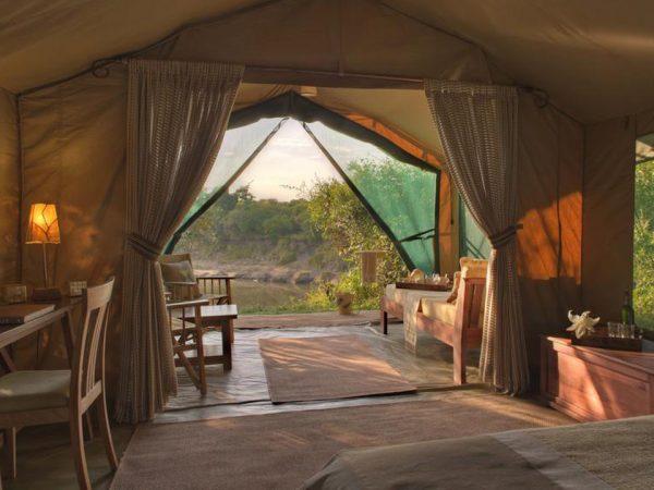 Rekero Camp Interior