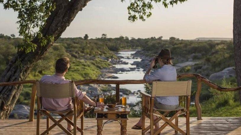 Rekero Camp Maasai Mara Drinks river view