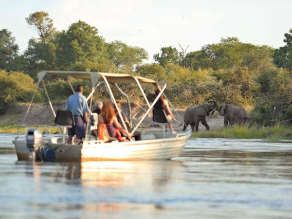 River Club Safari Lodge Boat