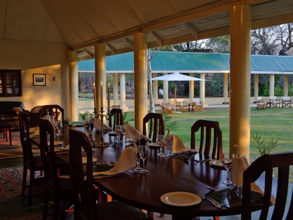 River Club Safari Lodge Dining Table