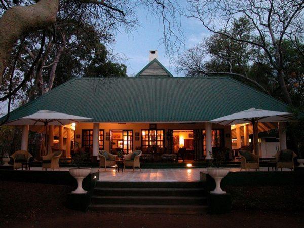River Club Safari Lodge Front