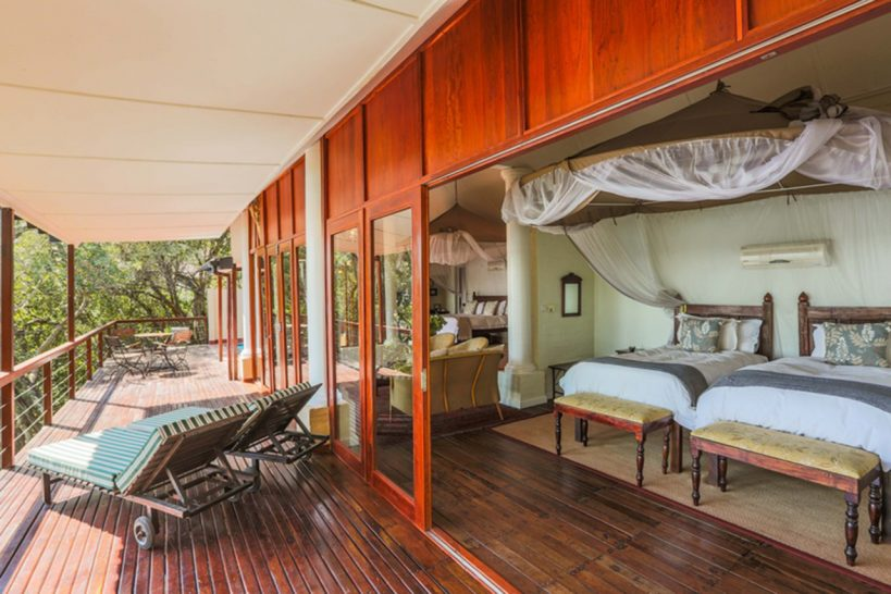 River Club Safari Lodge Luxury Family River Suite