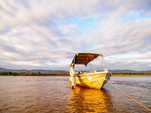 Royal Zambezi Lodge Boat