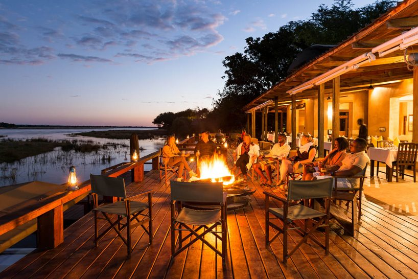 Royal Zambezi Lodge Campfire Dining
