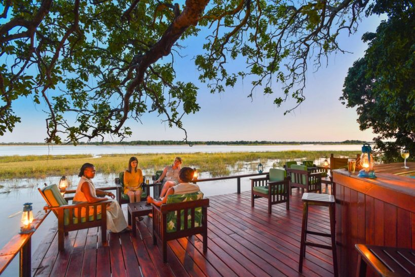 Royal Zambezi Lodge Dining