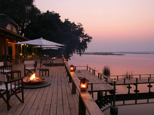 Royal Zambezi Lodge Evening