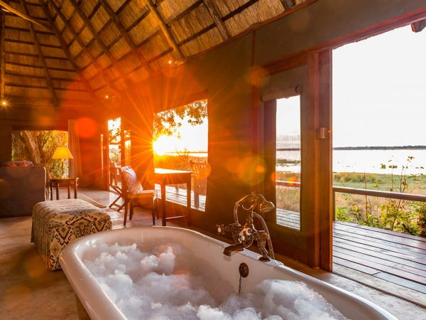 Royal Zambezi Lodge Tub