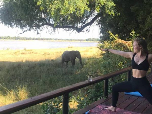 Royal Zambezi Lodge Yoga