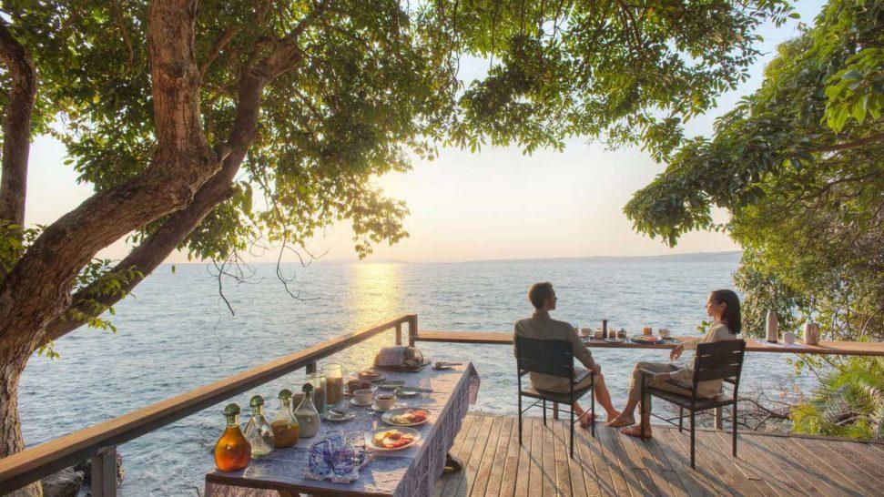 Rubondo Island Breakfast Deck