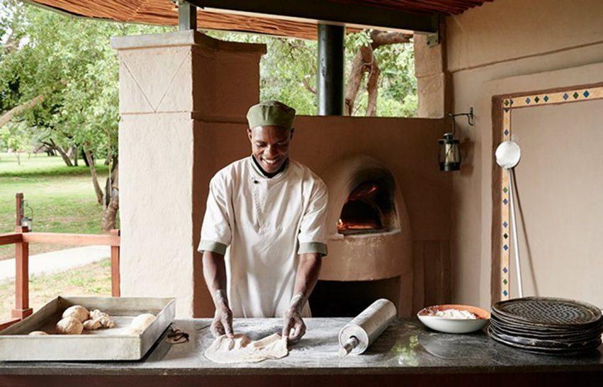 Sanctuary Chobe Chilwero Bush Dining