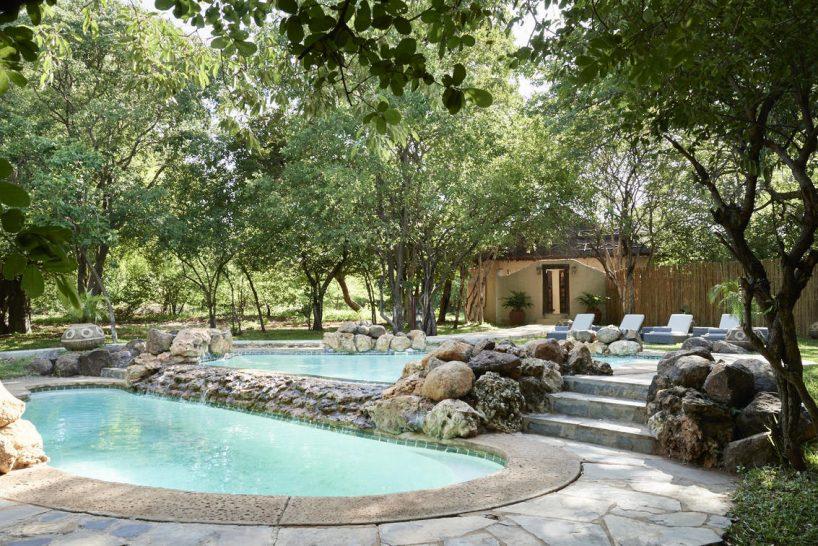 Sanctuary Chobe Chilwero Outdoor Pool