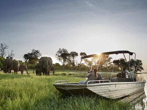 Sanctuary Chobe Chilwero Photographic Safari Cruise