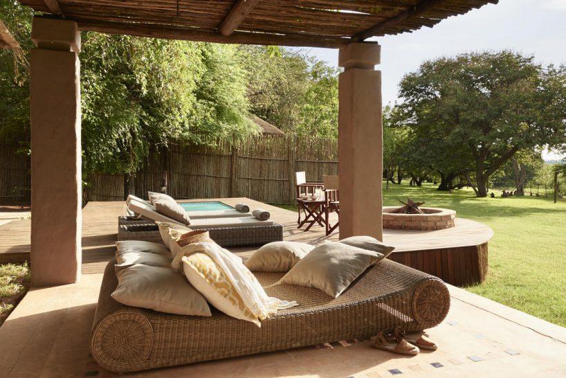 Sanctuary Chobe Chilwero Pool Suite