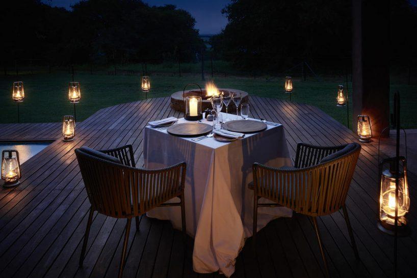 Sanctuary Chobe Chilwero Private Dining