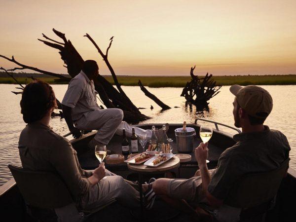 Sanctuary Chobe Chilwero Sundowner Cruise