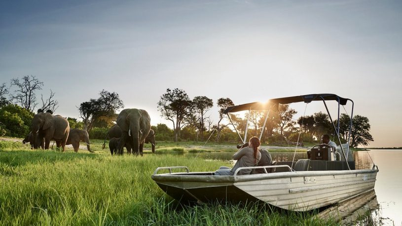 Sanctuary Chobe Chilwero water safari