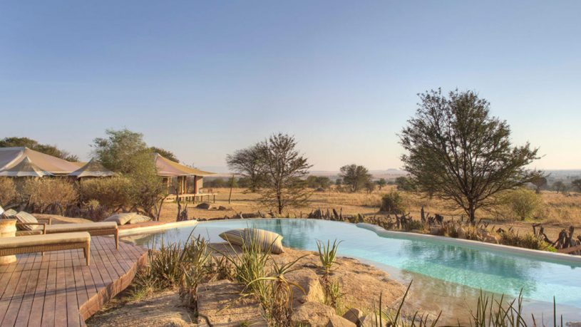 Sayari Camp Pool Tanzania