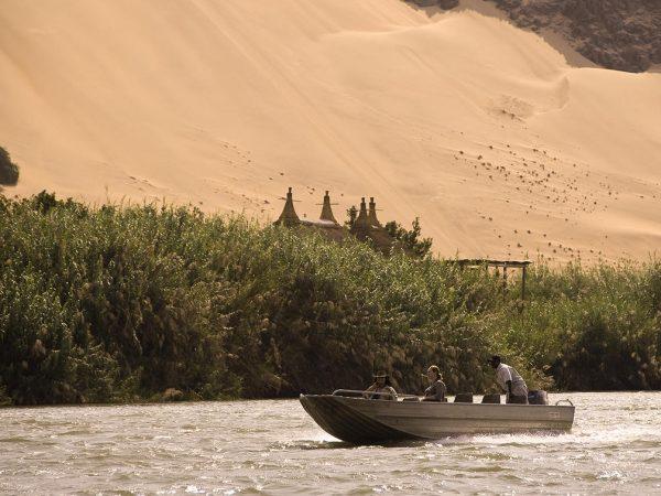 Serra Cafema Camp Boating Trips on the Kunene River