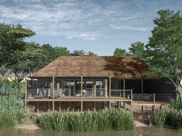 Serra Cafema Camp Exterior