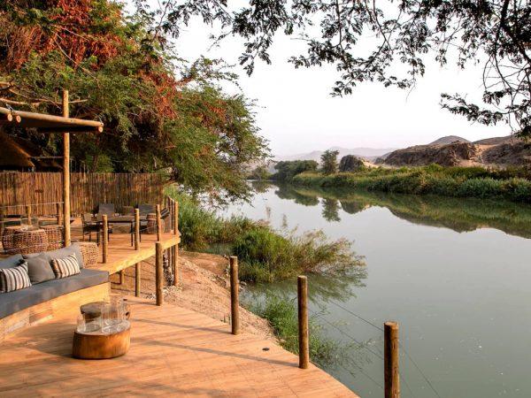 Serra Cafema Camp River View